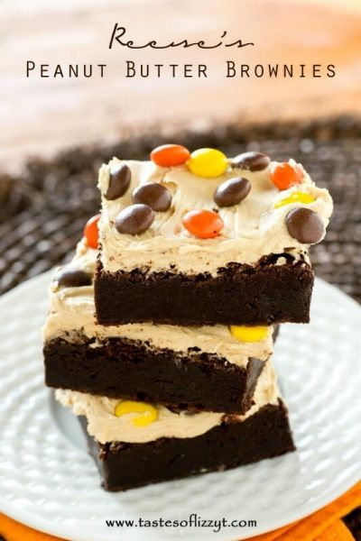 Reese's Chocolate Peanut Butter Brownies