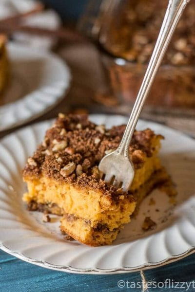 Easy Butterscotch Coffee Cake