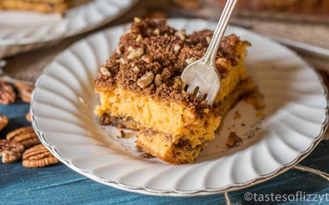 Butterscotch pecan crumb cake recipe