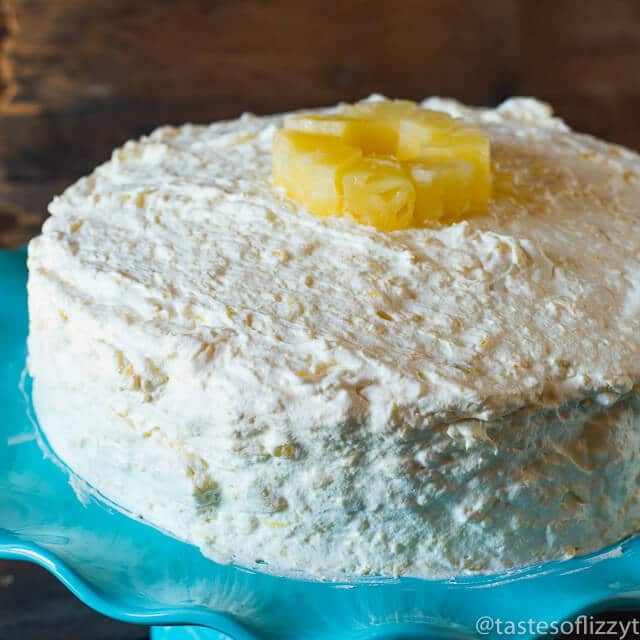 Pineapple Cake Frosting Recipe