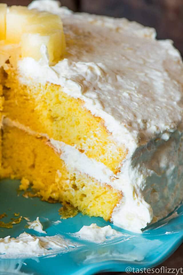 Orange Sunset Pig Pickin Cake