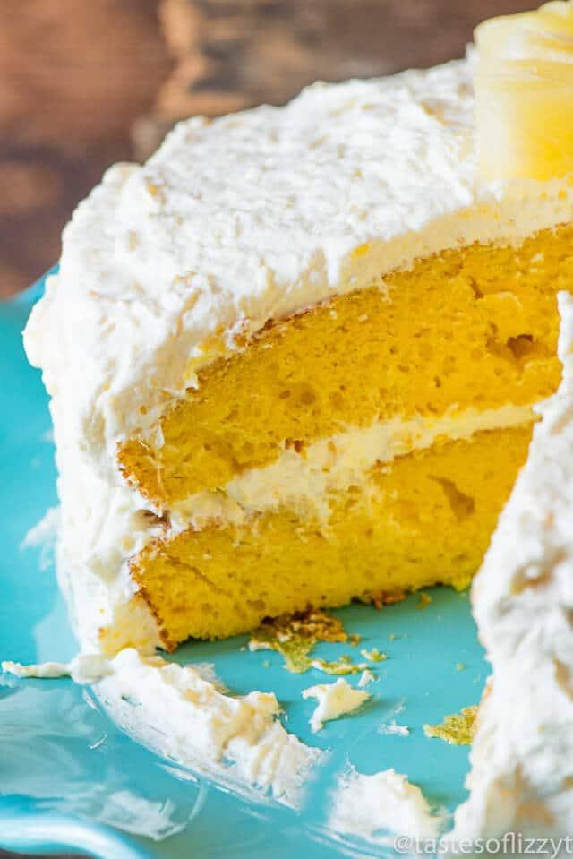 Single layer yellow cake recipe