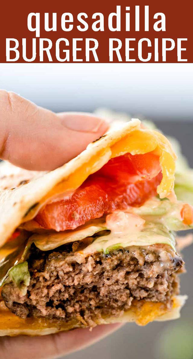 This is our healthier, copycat version of our favorite burger at Applebee's...the Quesadilla Burger! An easy sandwich with endless combinations for your summer picnics. via @tastesoflizzyt