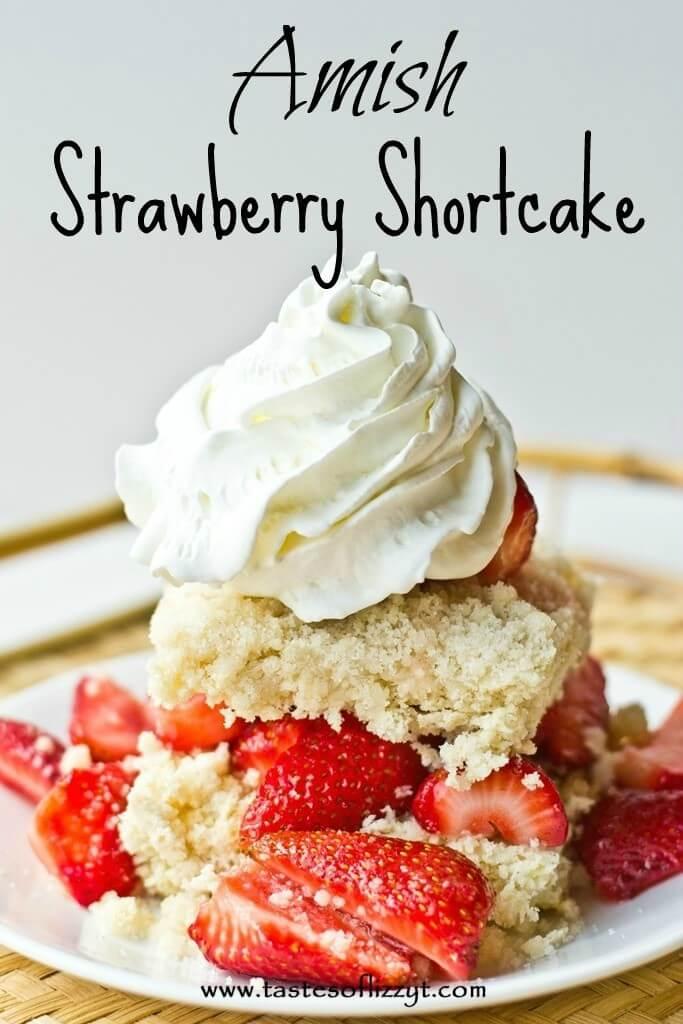 Amish Strawberry Shortcake