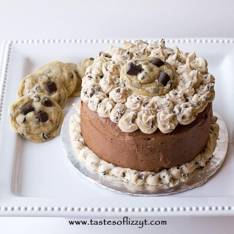 Cookie Dough Layer Cake
