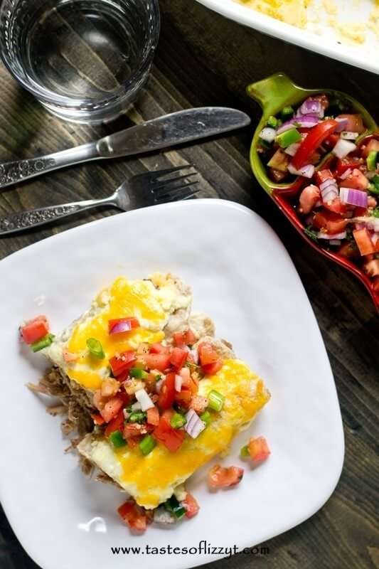 Creamy Roast Beef Enchiladas Recipe. I love a good creamy, spicy Mexican dish. This Creamy Roast Beef Enchiladas recipe is one of my favorites. You're going to love it because it's so simple!
