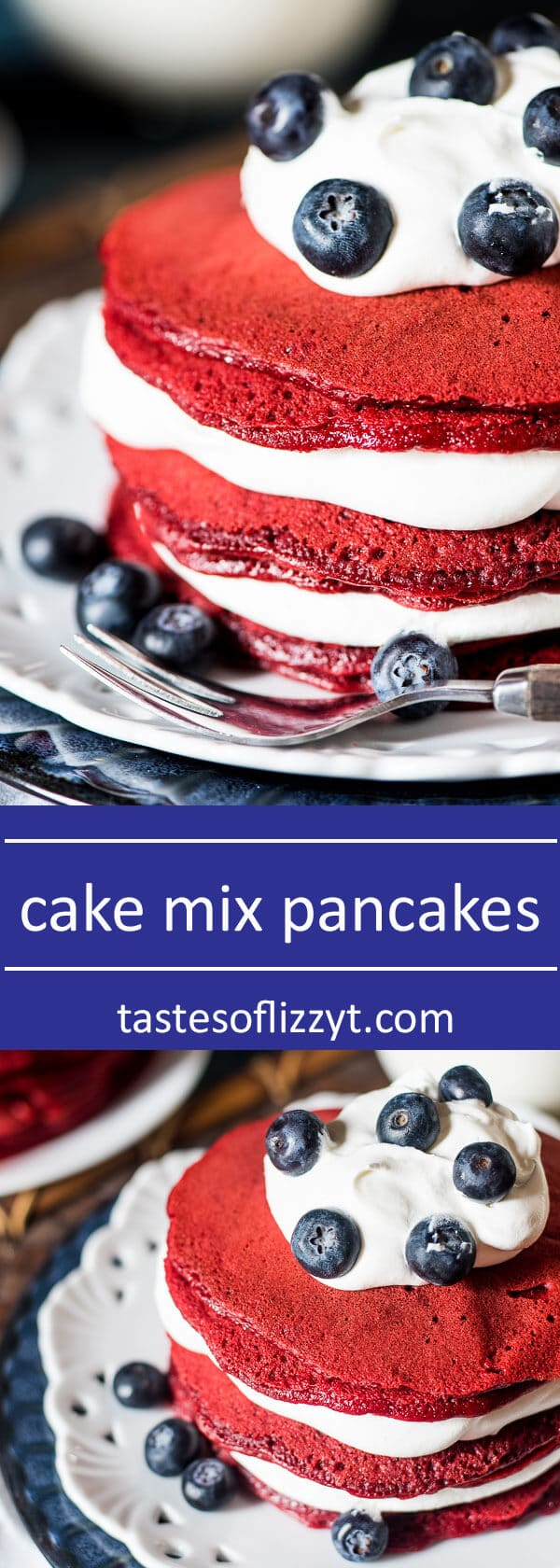 Cake Mix Pancakes 5 Ingredients with Any Flavor Box Cake Mix