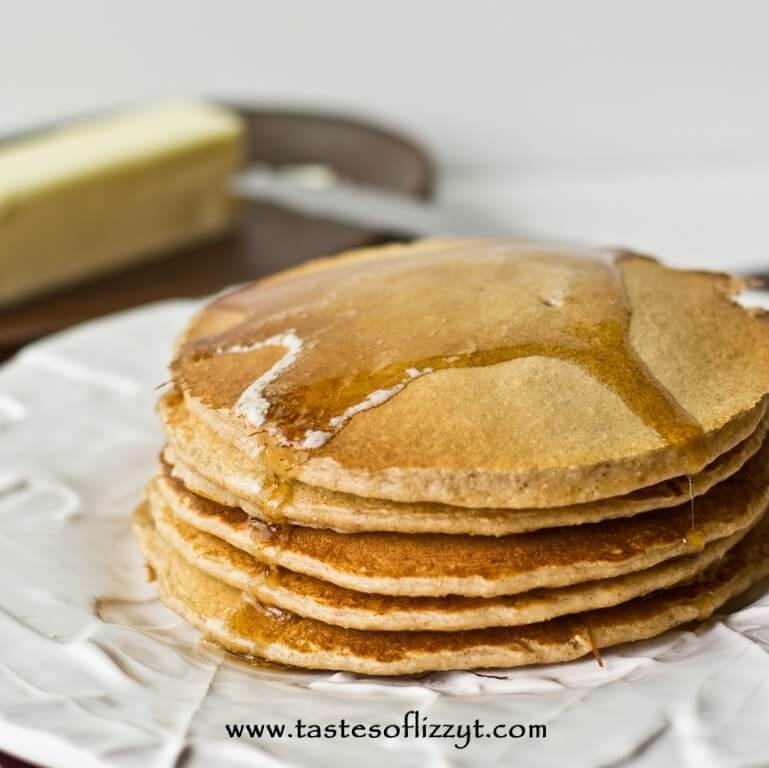 Protein Pancakes Healthy Breakfast Recipe With Oatmeal And Eggs