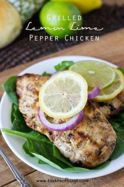 Grilled Lemon Lime Pepper Chicken