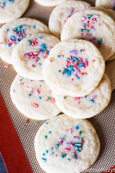 Chewy Sugar Cookies {Pillsbury Copycat Recipe}