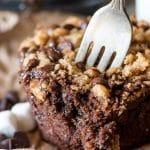 S'more Chocolate Zucchini Muffins