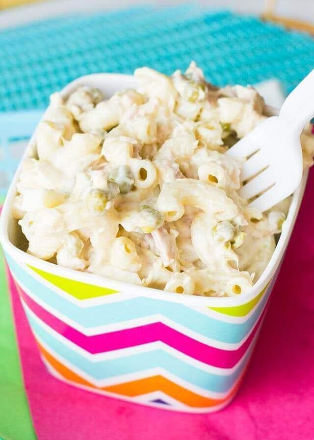 Tuna macaroni salad recipe with miracle whip for Tuna fish macaroni salad