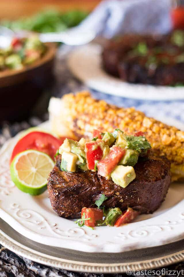 Mexican Steak With Avocado Salsa A Paleo And Whole30