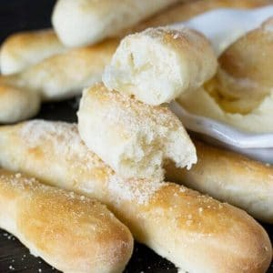 parmesan butter breadsticks