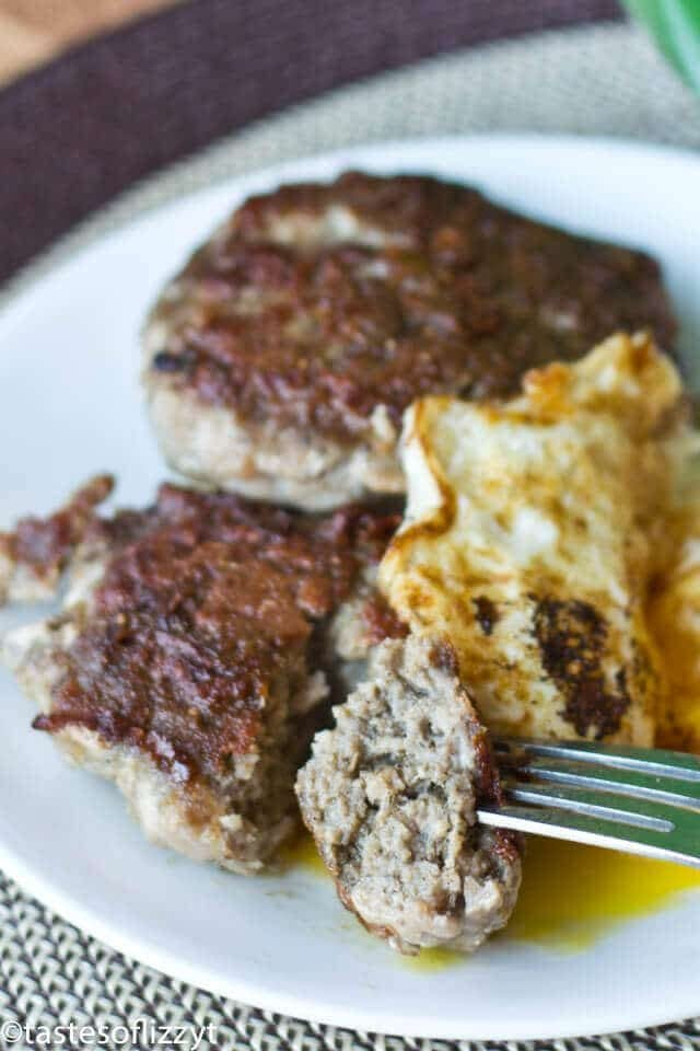 easy homemade turkey sausage with no sugar