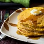 Pumpkin Creole Pancakes {Tastes of Lizzy T}