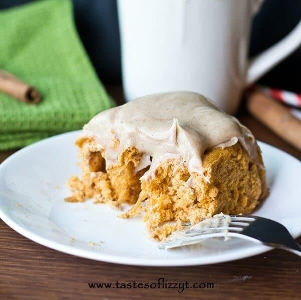 Pumpkin Pudding Rolls {Tastes of Lizzy T}