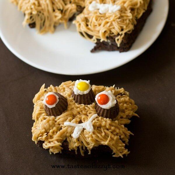 Reese's Monster Brownies {Tastes of Lizzy T}