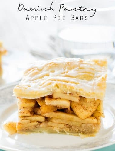 titled image (and shown): Danish Pastry Apple Pie Bars