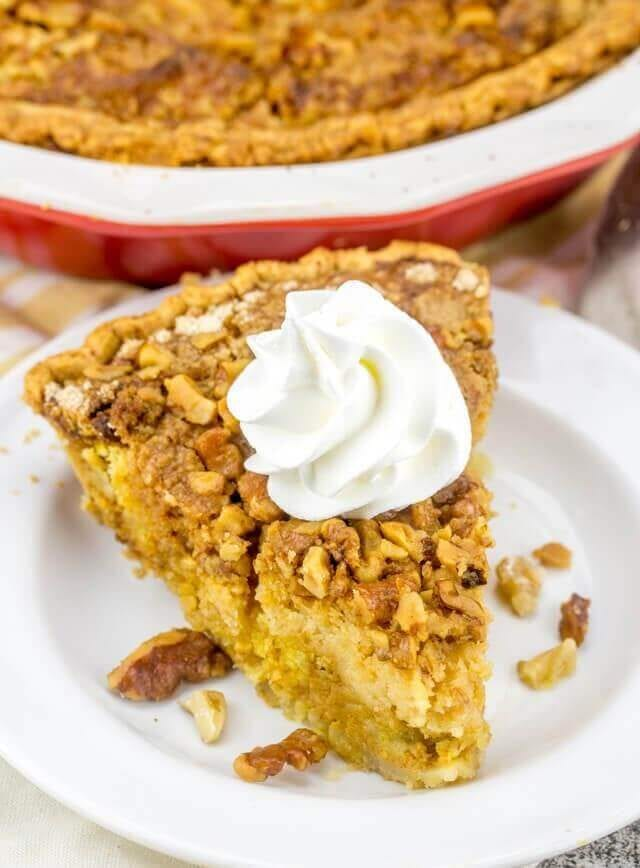 pumpkin dump cake pie recipe