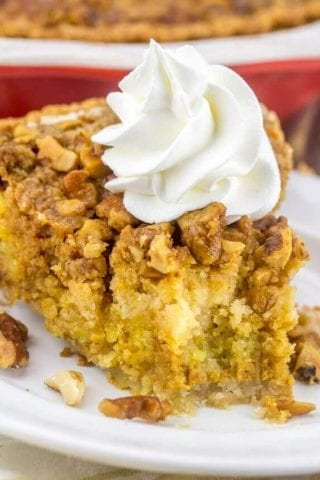 Pumpkin Crumb Pie