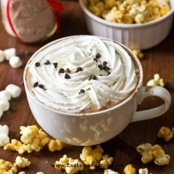 Homemade Hot Chocolate Mix www.tastesoflizzyt.com