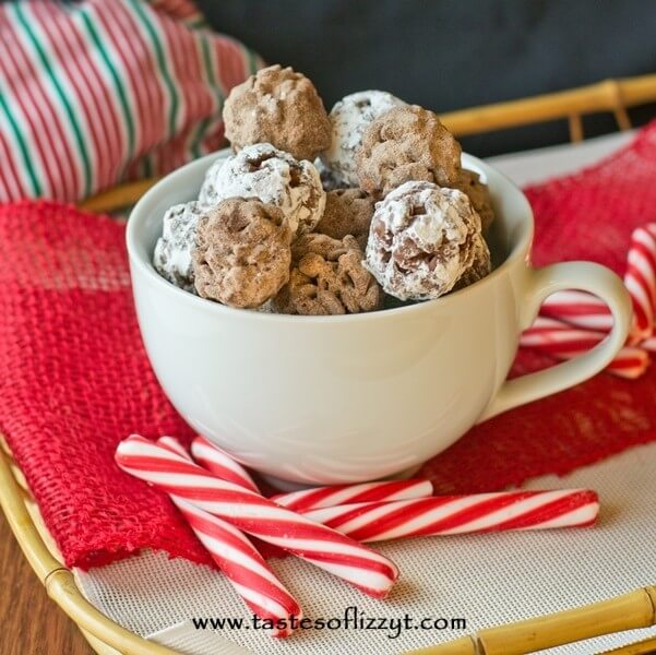 Hot Cocoa Krispies Bites {Tastes of Lizzy T}