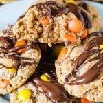 Reese's Peanut Butter Oatmeal Cookies