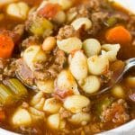 slow cooker italian soup