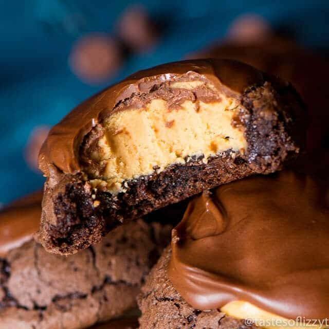 buckeye-brownie-cookies