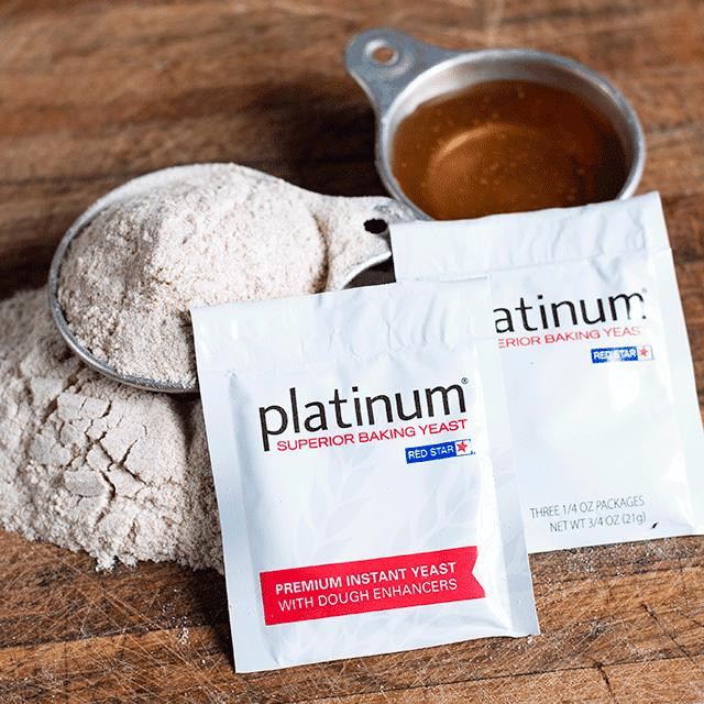 red star platinum yeast packets