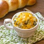 bowl of Spinach Mashed Potatoes