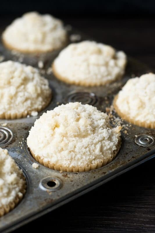 Vanilla Shortcake Muffins