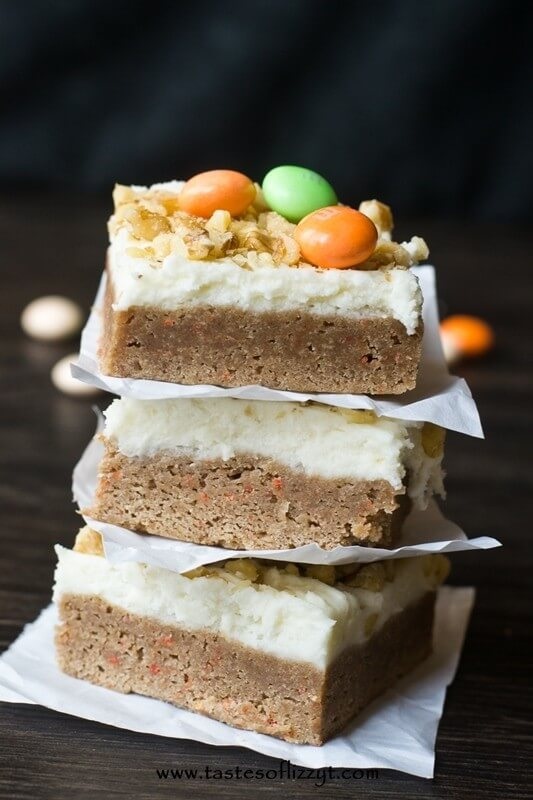 Cream Cheese Bars Made With Cake Mix