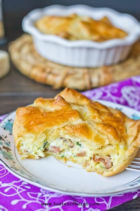 spinach and cheese egg souffle {an easy copycat panera recipe for