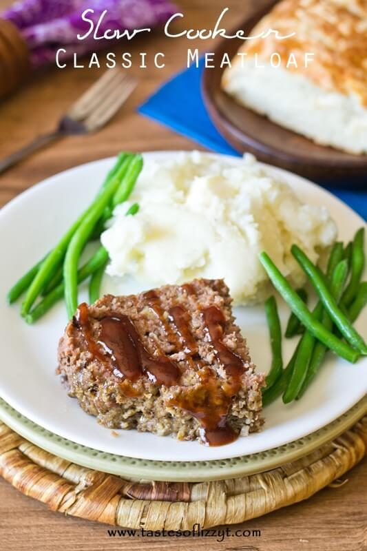 This Slow Cooker Classic Meatloaf is made easily in your crockpot and ...