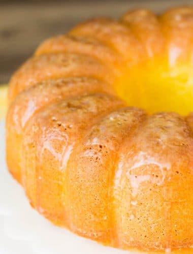 Easy Lemon Pound Cake Recipe