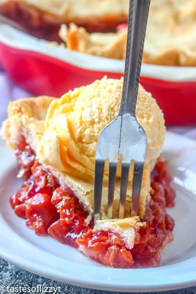 grandma's cherry pie recipe