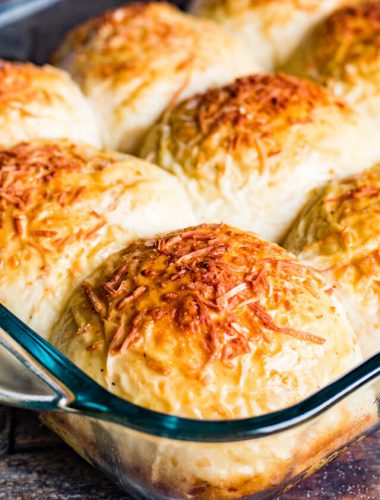 cheesy dinner roll recipe