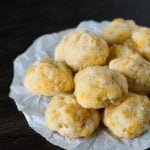 Homemade Cheddar Cheese Puffs