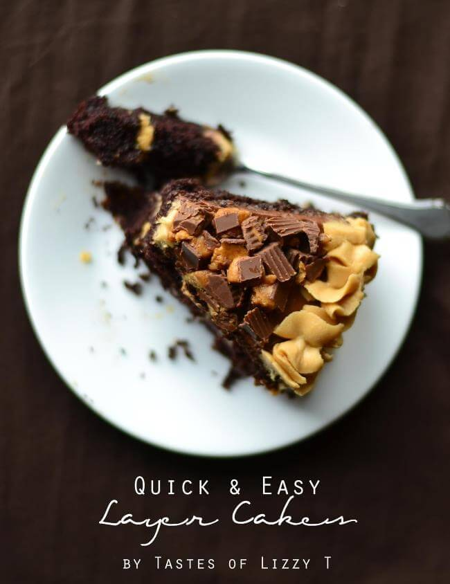 Quick and Easy Layer Cakes {Tastes of Lizzy T}