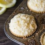 These Lemon Crumb Muffins are simple to make. They're moist, full of lemon flavor and have an amazing crumb topping!