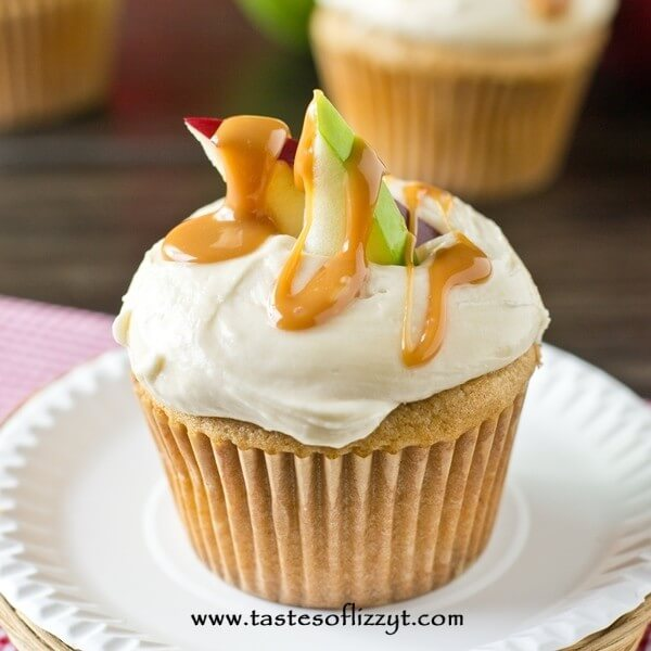 Caramel Apple Cupcakes Tastes Of Lizzy T S