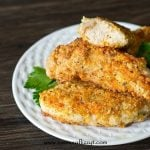 These healthy, kid-friendly Italian Paleo Chicken Fingers are grain free, gluten free, dairy free and sugar free. Lightly breaded and pan fried to a golden brown.
