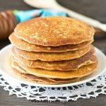 pancake recipe sweetened with honey