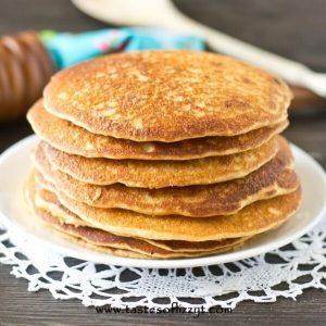 pancake recipe sweetened with honey