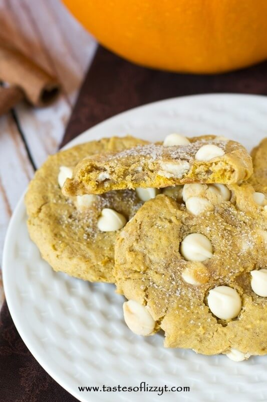 Learn the technique to make Pumpkin White Chocolate Chip Cookies that are perfectly soft and chewy, not cakey at all. Just like a cookie should be!
