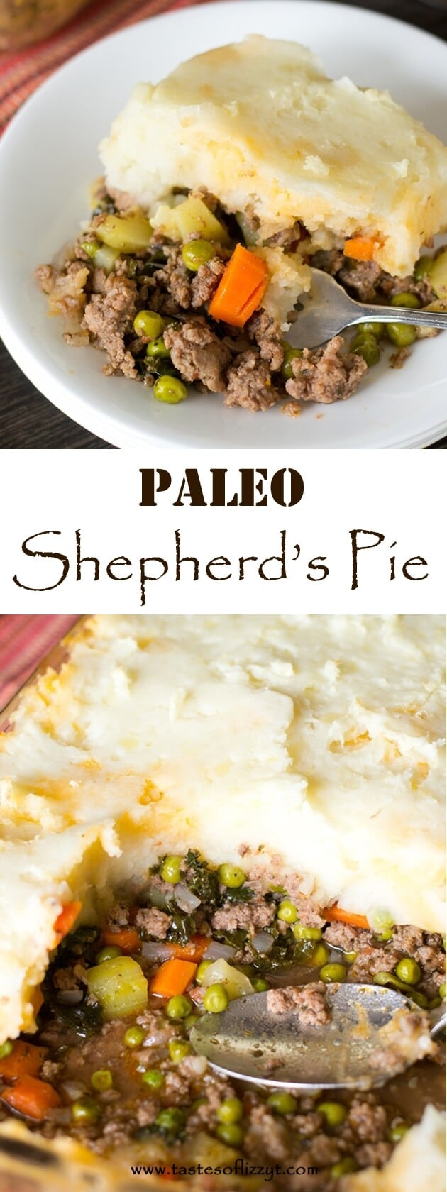 Eat a comforting but healthy dinner with this Paleo Shepherd's Pie ...