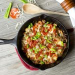 Skillet Pizza Potatoes