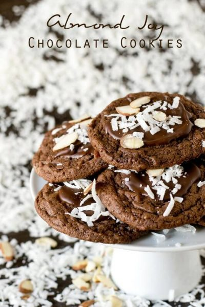 Almond Joy Chocolate Cookies